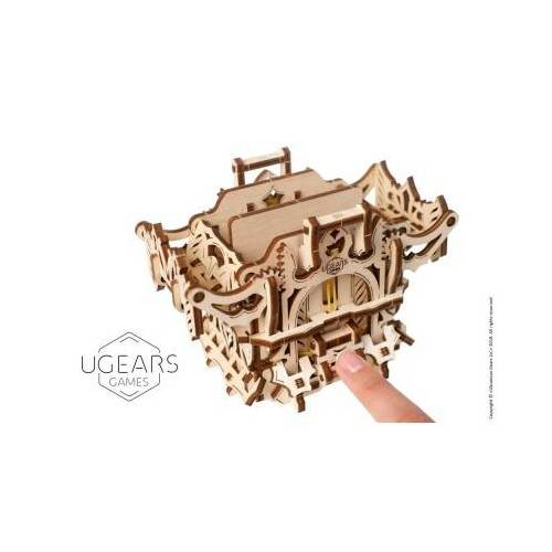 Ugears 3D Holzpuzzle - Deck Box 64 Teile Puzzle Ugears-12091