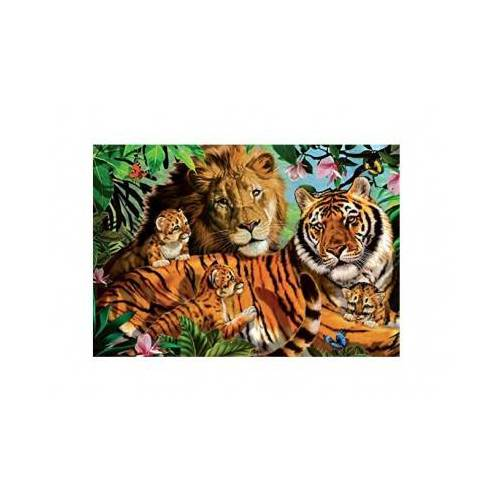 Jumbo Wildkatzen 1000 Teile Puzzle Jumbo-18338