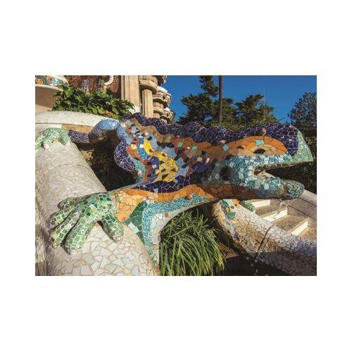 Jumbo Parque Guell, Barcelona 500 Teile Puzzle Jumbo-18540