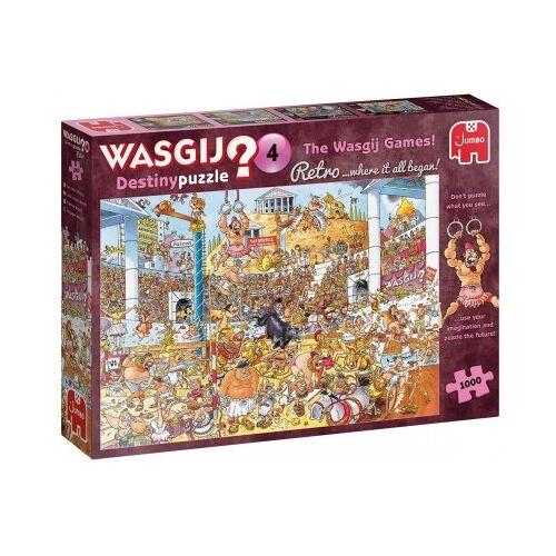 Jumbo Wasgij Destiny 4 - The Wasgij Games 1000 Teile Puzzle Jumbo-19178