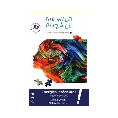 The Wild Puzzle Wooden Puzzle - Internal Energies 168 Teile Puzzle The-Wild-Puzzle-759849