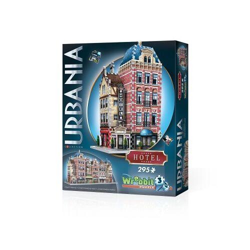 Wrebbit 3D 3D Puzzle - Urbania Collection - Hotel 295 Teile Puzzle Wrebbit-3D-0501
