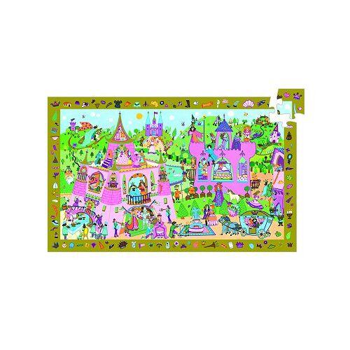 Djeco Entdecker Puzzle - Prinzessin 54 Teile Puzzle Djeco-07556