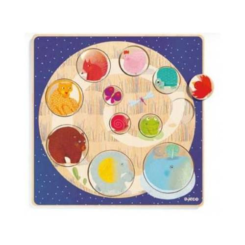 Djeco Holzpuzzle - Ludi & Co 11 Teile Puzzle Djeco-01806