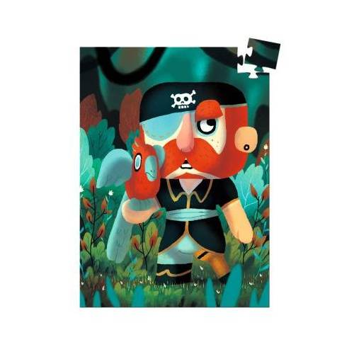 Djeco Mini Puzzle - Sam Parrot 60 Teile Puzzle Djeco-07671