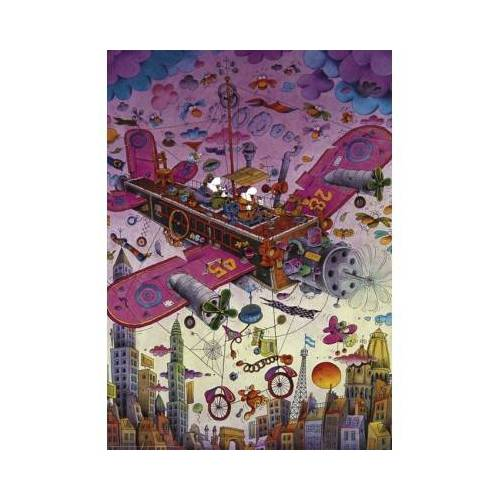 Heye Guillermo Mordillo - Fly With Me! 1000 Teile Puzzle Heye-29887