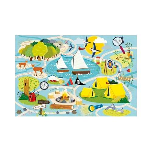 Gibsons Camp Gibsons 36 Teile Puzzle Gibsons-G1031