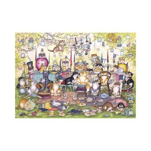 Gibsons XXL Teile - Mad Catter's Tea Party 250 Teile Puzzle Gibsons-G2717