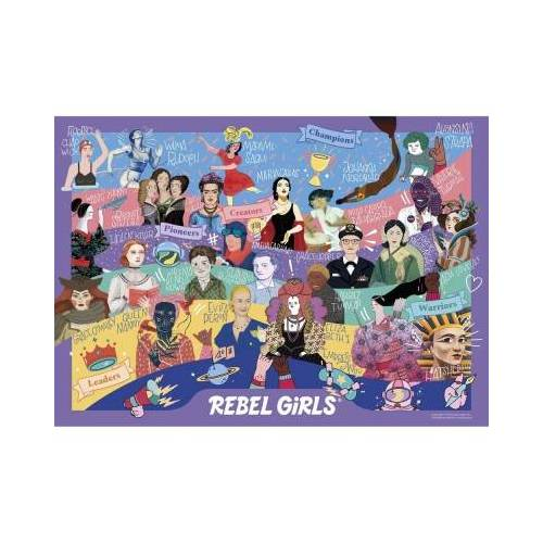 Gibsons Rebel Girls 500 Teile Puzzle Gibsons-G3131