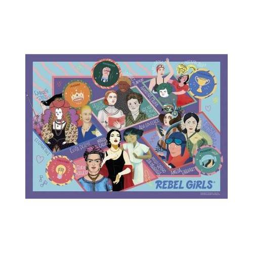 Gibsons XXL Teile - Rebel Girls 100 Teile Puzzle Gibsons-G2221