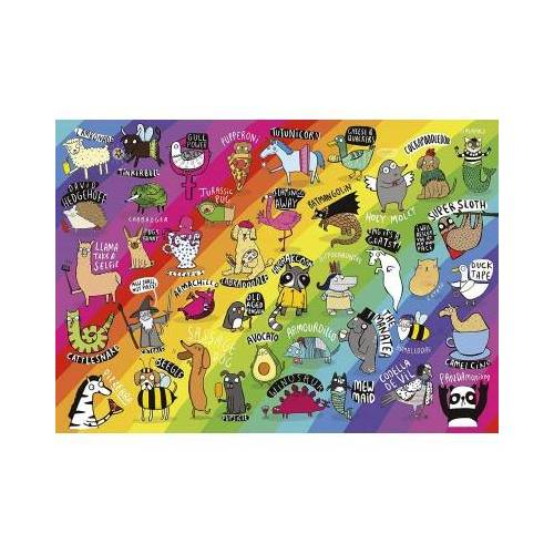 Gibsons Punimals 500 Teile Puzzle Gibsons-G3602