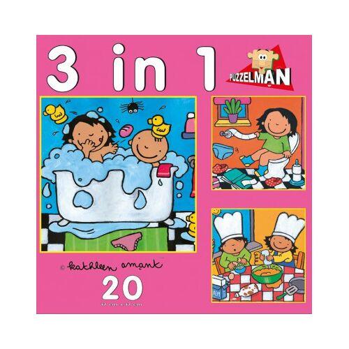 PuzzelMan Noa: 3 Puzzles in 1 20 Teile Puzzle PuzzelMan-640