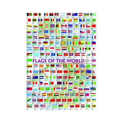 Eurographics Flaggen dieser Erde 1000 Teile Puzzle Eurographics-6000-0128