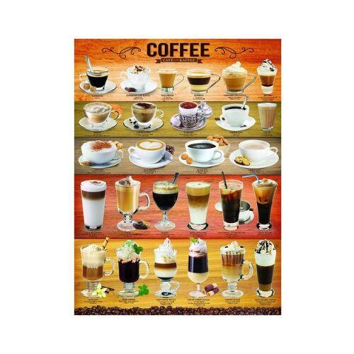 Eurographics Kaffee 1000 Teile Puzzle Eurographics-6000-0589