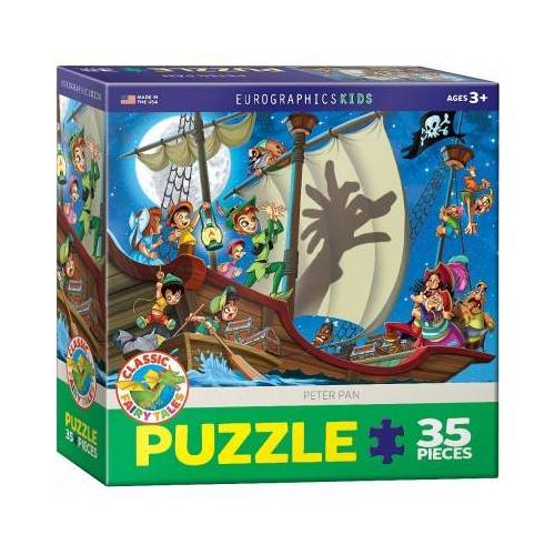 Eurographics Peter Pan 35 Teile Puzzle Eurographics-6035-0877