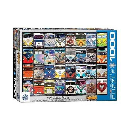 Eurographics VW Bus - Cool Faces 1000 Teile Puzzle Eurographics-6000-0870