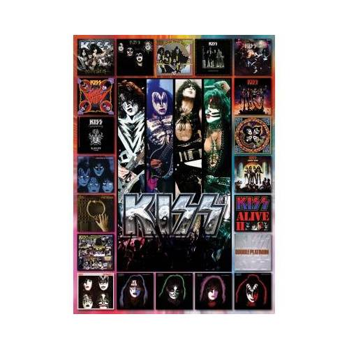 Eurographics KISS, The Album 1000 Teile Puzzle Eurographics-6000-5305