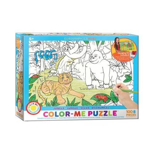 Eurographics Color Me - Dschungel 100 Teile Puzzle Eurographics-6111-0892