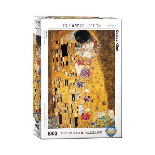 Eurographics Klimt: Der Kuss 1000 Teile Puzzle Eurographics-6000-4365