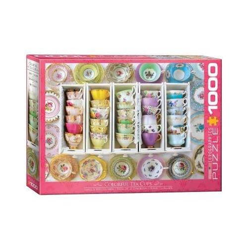 Eurographics Tea Cups Boxes 1000 Teile Puzzle Eurographics-6000-5342