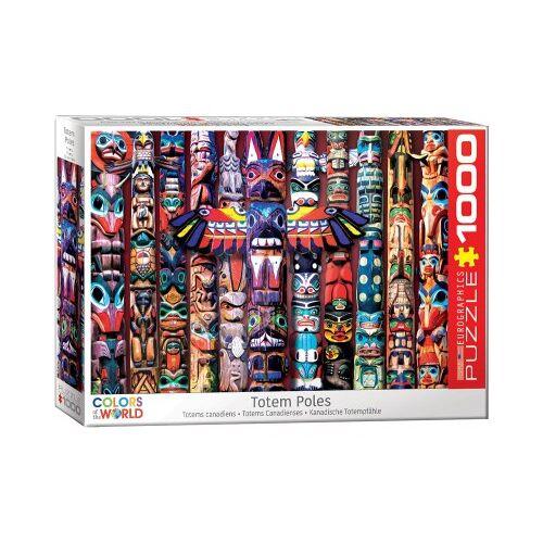 Eurographics Totem Poles 1000 Teile Puzzle Eurographics-6000-5349