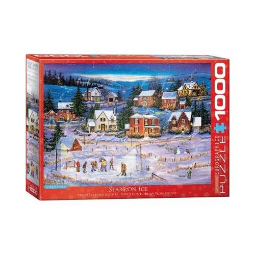 Eurographics Stars on the Ice 1000 Teile Puzzle Eurographics-6000-5440
