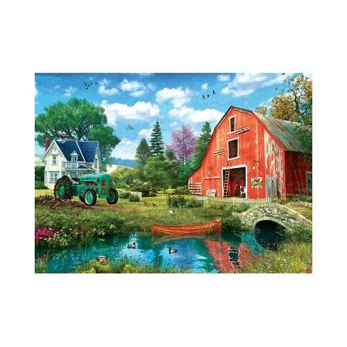 Eurographics The Red Barn 1000 Teile Puzzle Eurographics-6000-5526