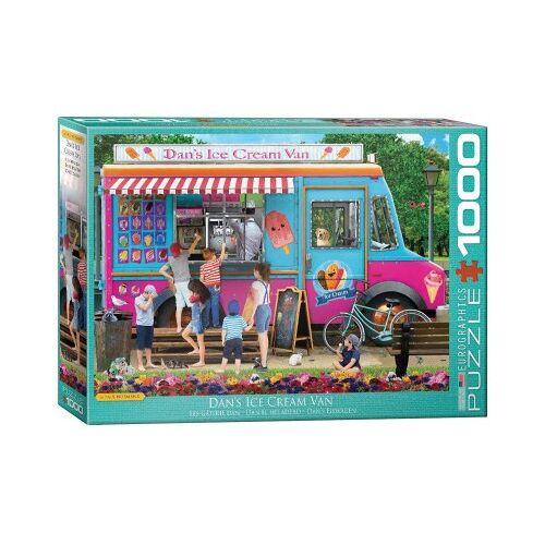 Eurographics Dan's Ice Cream Van 1000 Teile Puzzle Eurographics-6000-5519