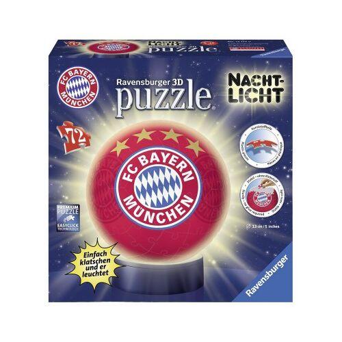 Ravensburger 3D Puzzle - Nachtlicht - FC Bayern München 72 Teile Puzzle Ravensburger-12177