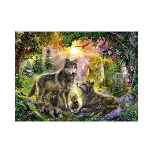 Ravensburger Wolfsfamilie im Sonnenschein 500 Teile Puzzle Ravensburger-14745