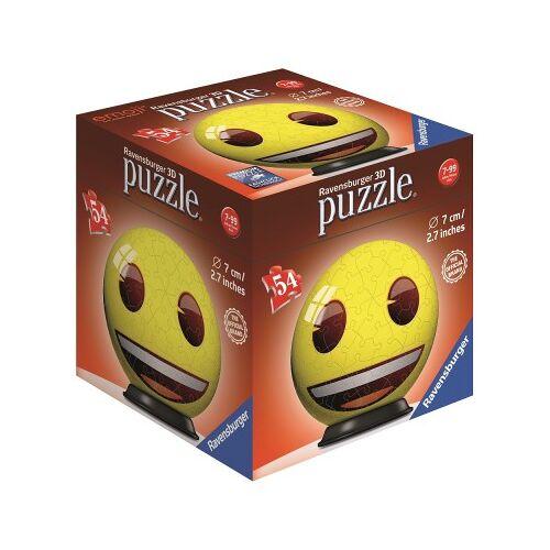 Ravensburger 3D Puzzle - Emoji 54 Teile Puzzle Ravensburger-72060-03