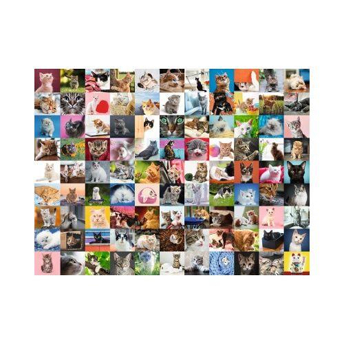 Ravensburger 99 Katzen 1500 Teile Puzzle Ravensburger-16235