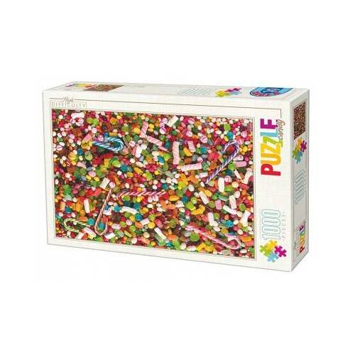 DToys High Difficulty - Bonbons 1000 Teile Puzzle Dtoys-74607