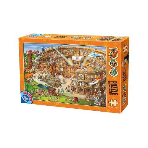 DToys Cartoon Collection - Kolliseum 1000 Teile Puzzle Dtoys-74676
