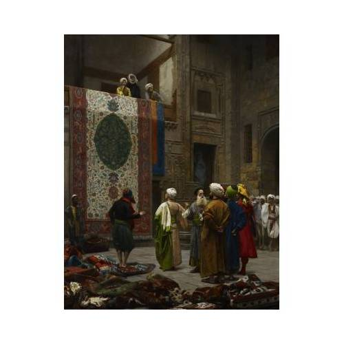 DToys Jean-Léon Gérôme: Carpet Merchant in Cairo, 1887 1000 Teile Puzzle Dtoys-72726