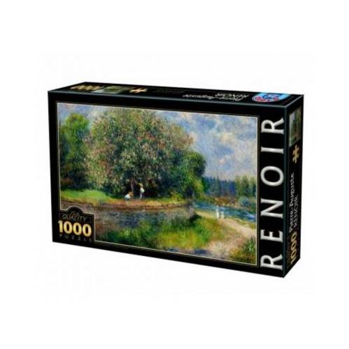 DToys Auguste Renoir - Chestnut Tree in Bloom 1000 Teile Puzzle DToys-74904