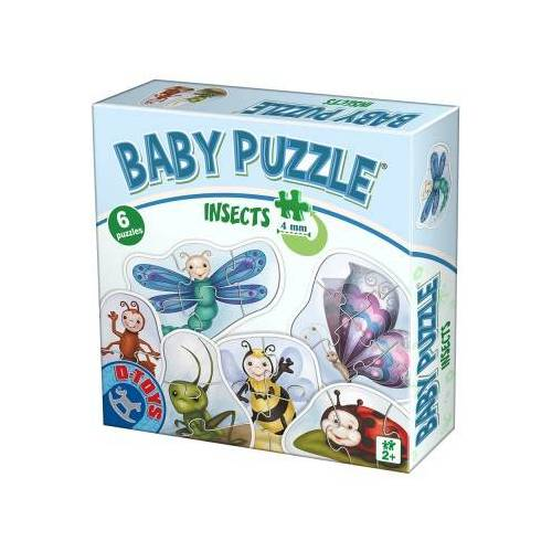 DToys 6 Baby Puzzle 2 Teile Puzzle Dtoys-75420