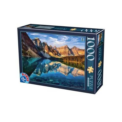 DToys Moraine Lake, Kanada 1000 Teile Puzzle Dtoys-75765