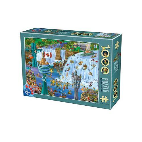 DToys Cartoon Collection - Niagara Falls 1000 Teile Puzzle Dtoys-75932