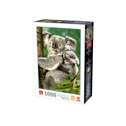 DToys Koalabären 1000 Teile Puzzle Deico-Games-76816