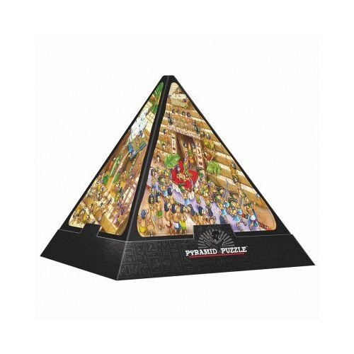 DToys 3D Pyramide - Ägypten: Cartoon / schwieriges Puzzle 504 Teile Puzzle Dtoys-65964