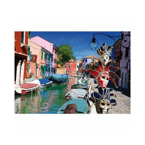 DToys Italien - Burano 1000 Teile Puzzle DToys-70814