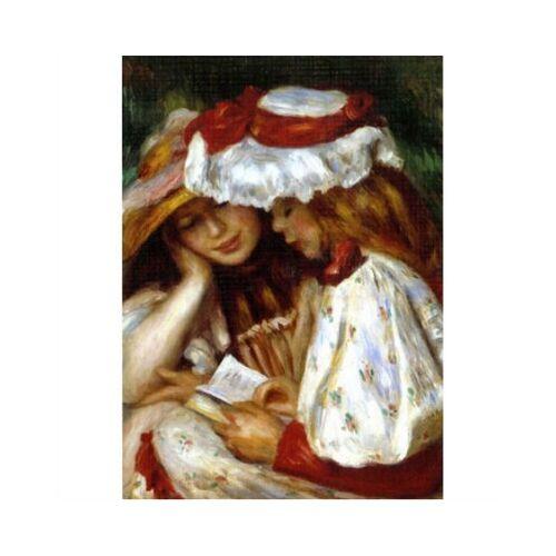 DToys Renoir: Zwei lesende Mädchen 1000 Teile Puzzle Dtoys-70289
