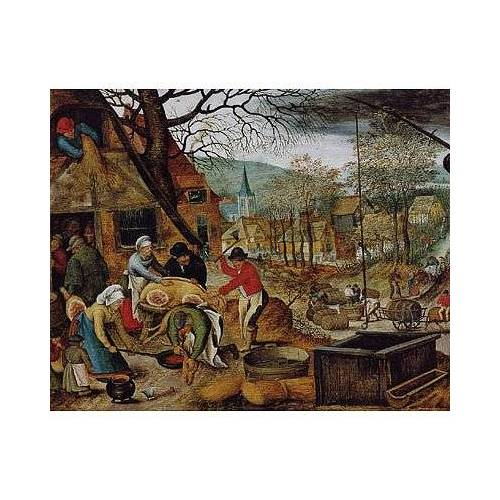 DToys Brueghel: Herbst 1000 Teile Puzzle DToys-70012