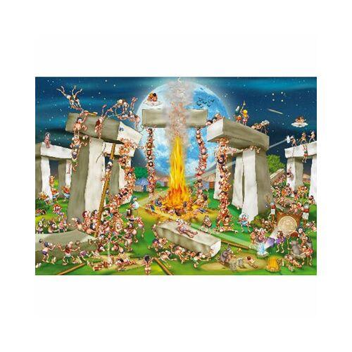 DToys Cartoon Collection: Stonehenge 1000 Teile Puzzle DToys-70906