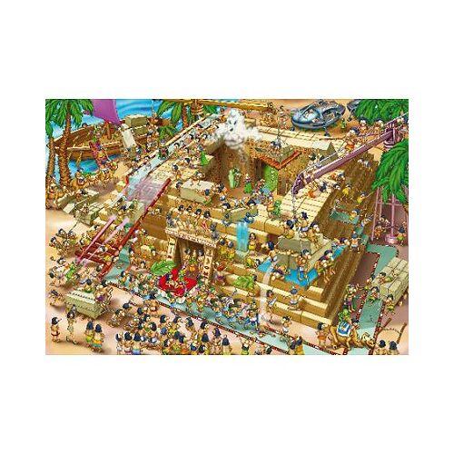 DToys Cartoon Collection: Pyramiden in Ägypten 1000 Teile Puzzle DToys-70890