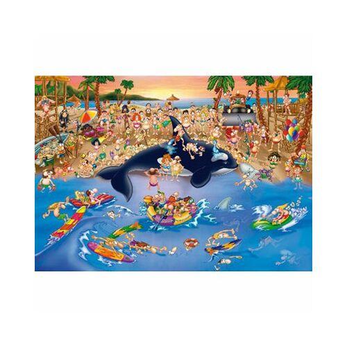 DToys Cartoon Collection: Stau am Strand 1000 Teile Puzzle Dtoys-70876