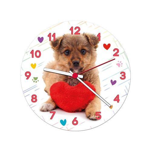Clementoni Puzzle-Uhr - Puppy 96 Teile Puzzle Clementoni-23039