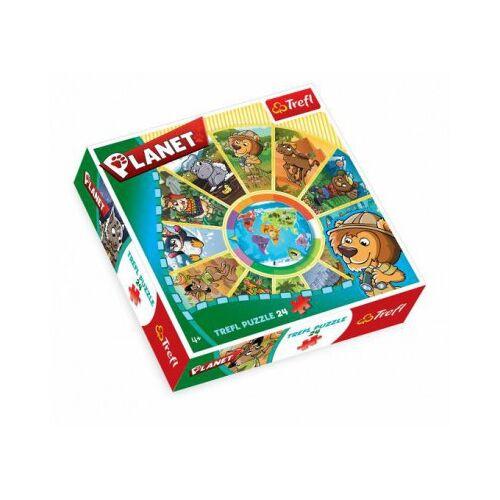 Trefl Rundpuzzle - Planeten 24 Teile Puzzle Trefl-39055