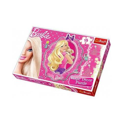 Trefl Barbie Puzzle Magic Decor 15 Teile Puzzle Trefl-14604